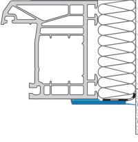 kątowniki wykonane z trwałego PCV, PVC,płaskowniki
